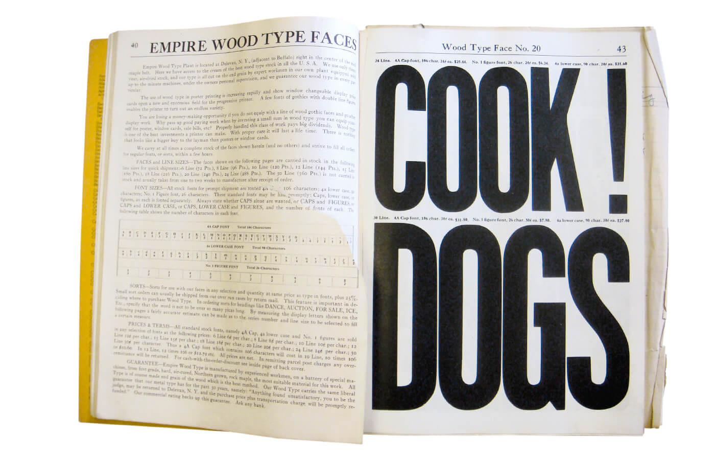 Catalogue no. 18, effective October 1st, 1923