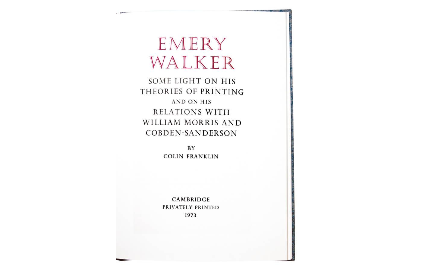 Emery Walker