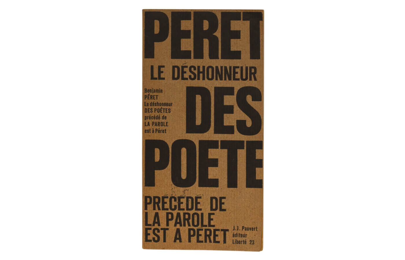 Le déshonneur des poètes