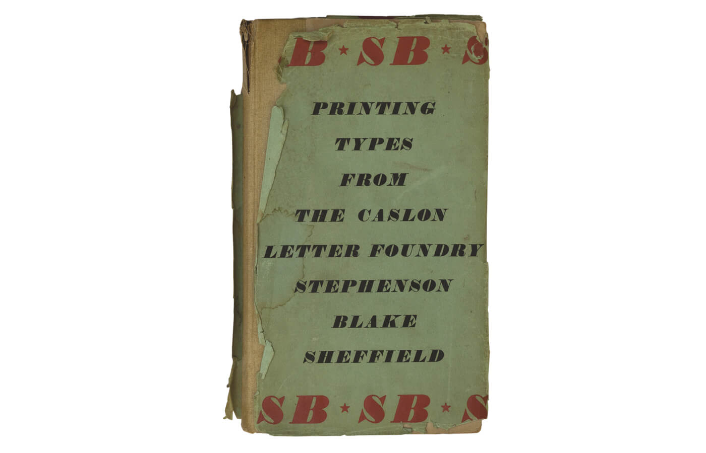 Specimens of Printing Types from Stephenson Blake  1953