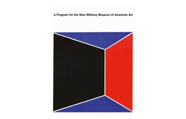 A Program for the New Whitney Museum of American Art