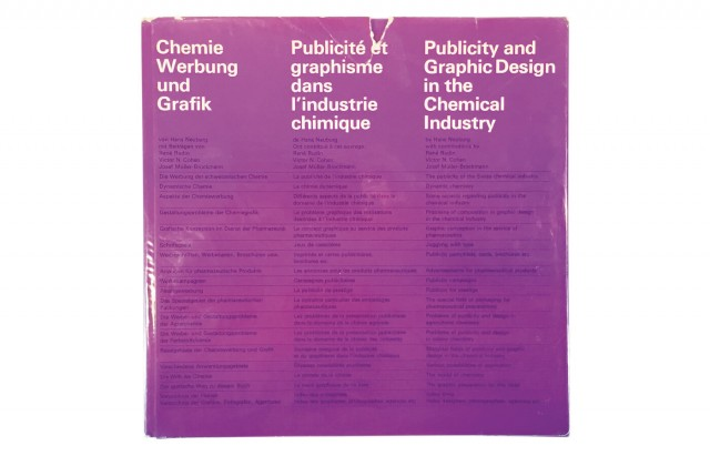 Chemie Werbung und Grafik | Publicité et graphisme dans l'industrie chimique | Publicity and Graphic Design in the Chemical Industry