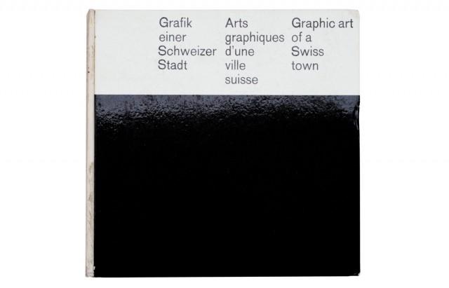 Grafik einer Schweizer Stadt | Arts graphiques d'une ville suisse | Graphic art of a Swiss town