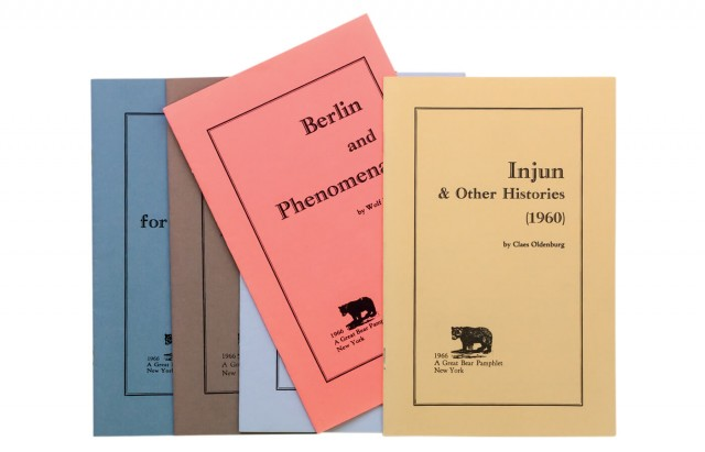 Great Bear Pamphlets Series