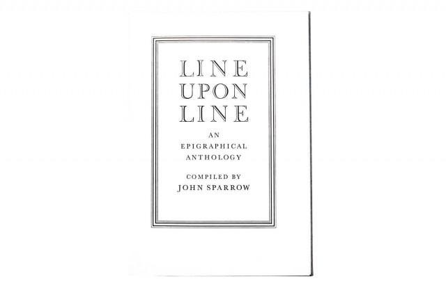 Line upon Line