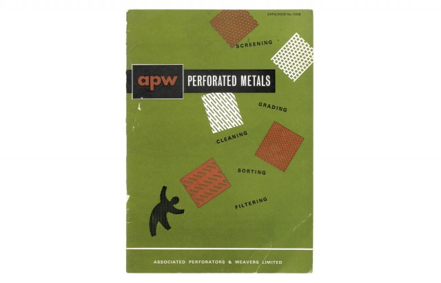Perforated Metals, Catalogue nº1151B