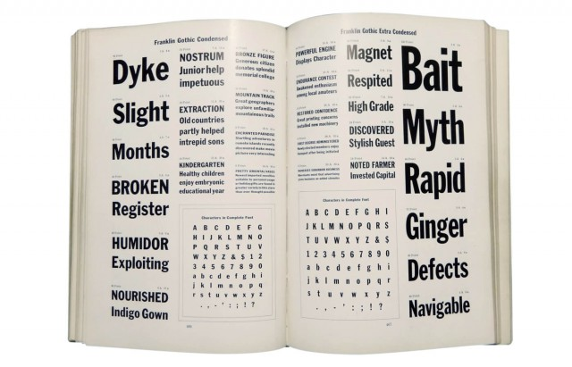 Specimen book and catalogue : dedicated to the typographic art