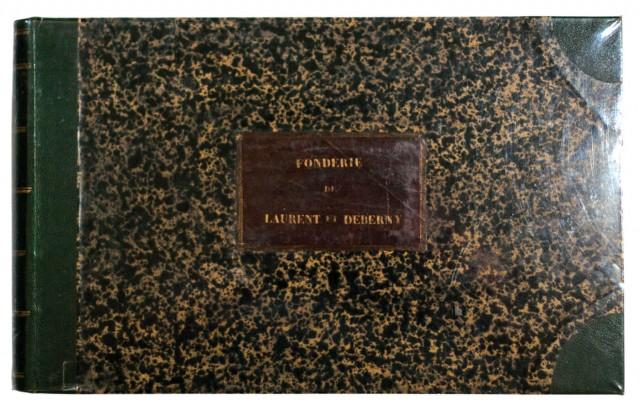 Specimen des divers caractères, vignettes et ornements typographiques de la fonderie Laurent et De Berny