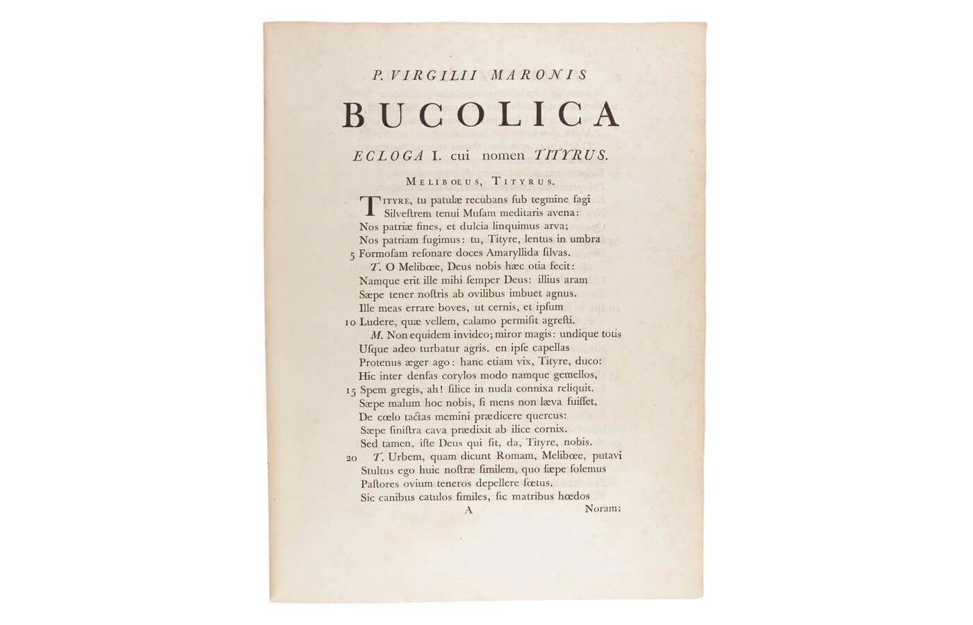 Bucolica, Georgica et Aeneis