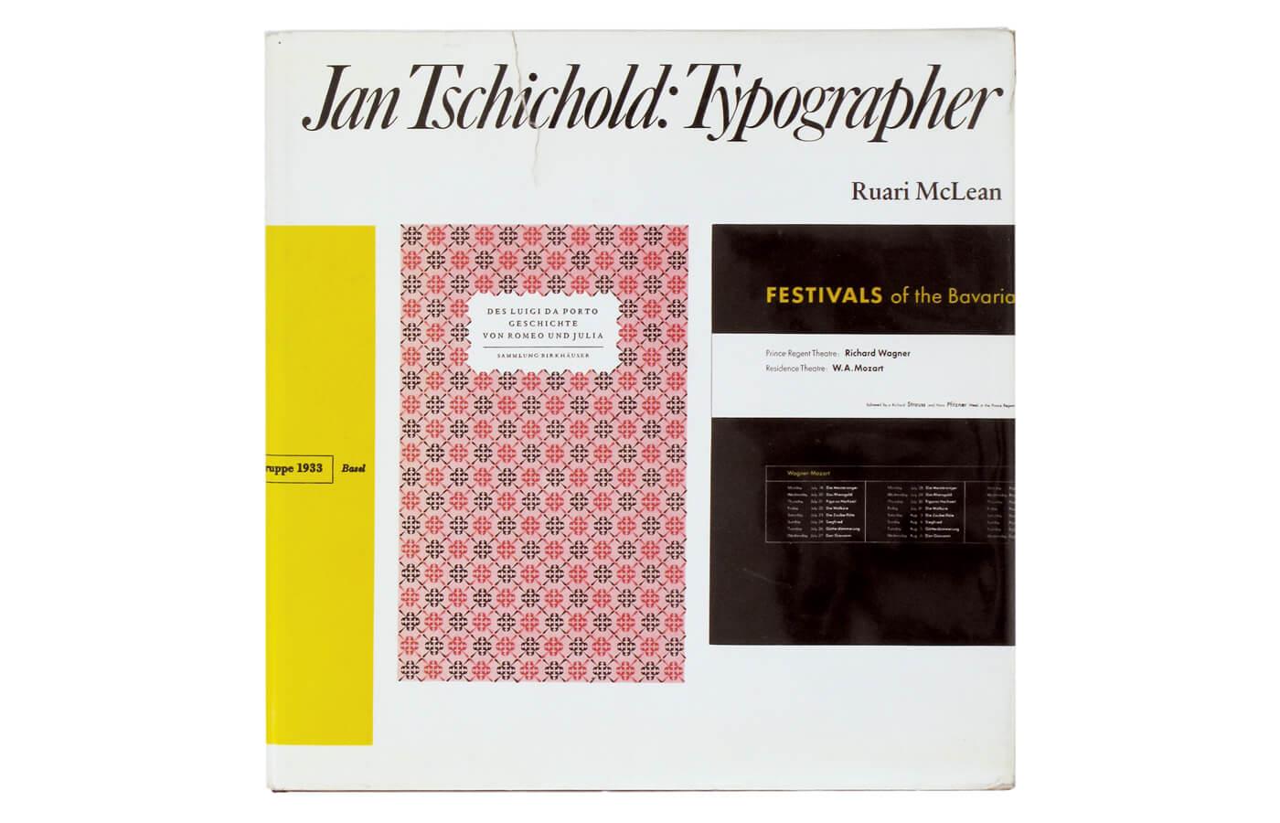 Jan Tschichold: Typographer