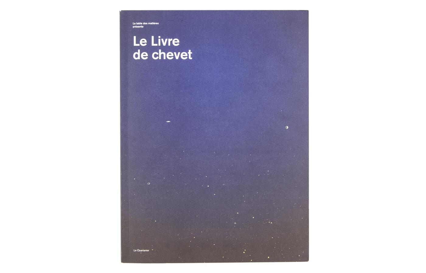 Le livre de chevet