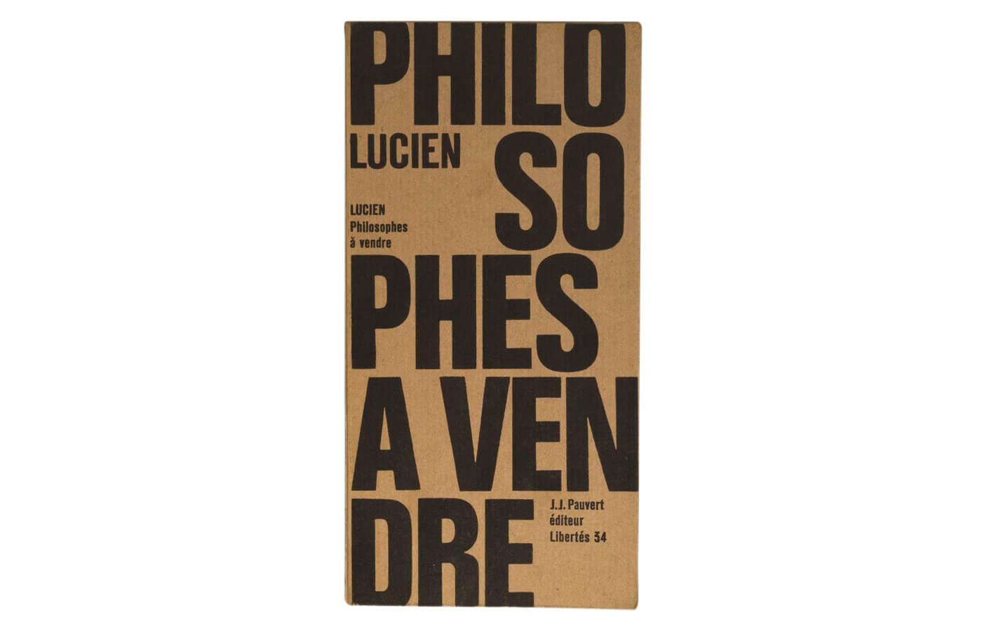 Philosophes à vendre