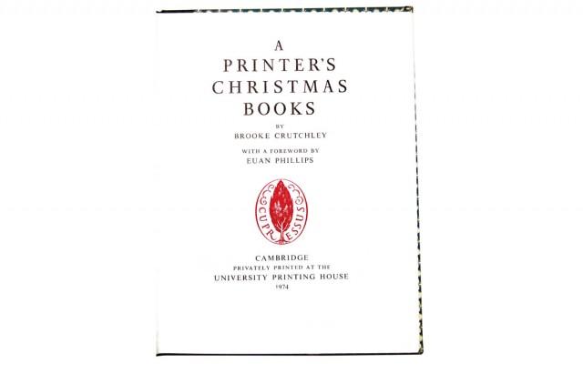 A Printer's Christmas Books