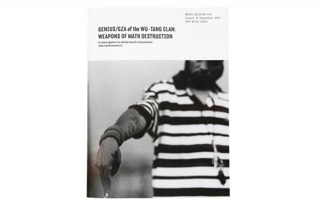 mono.kultur #13, Gza & Wu-Tang Clan: Weapons Of Math Destruction