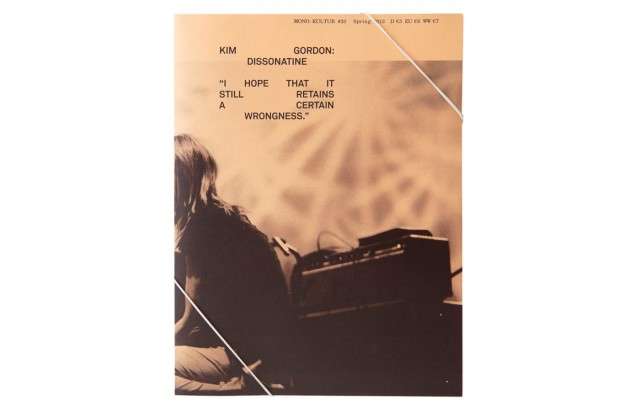 mono.kultur #33, Kim Gordon: Dissonatine