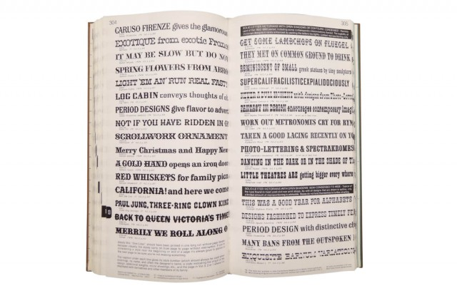 Photo-lettering's one line manual of styles
